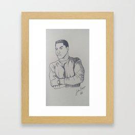 John Boyega Fanart Framed Art Print