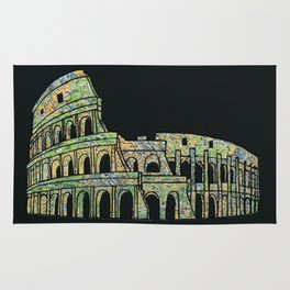 Colosseum Collage Rug