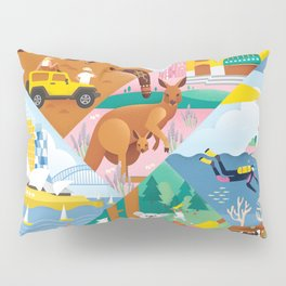 Travel To Australia Pillow Sham