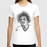 einstein T-shirts featuring Einstein by AlphaVariable
