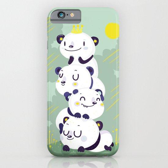 Panda pile iPhone & iPod Case