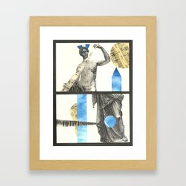 Venus Diptych Framed Art Print