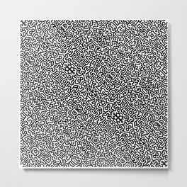 wall art K.Haring Metal Print