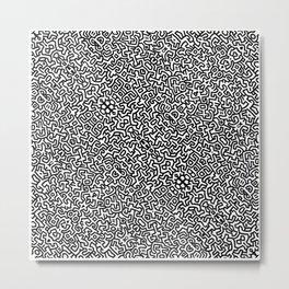 wall art K.Haring Metal Print