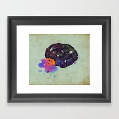 Cosmic Chip Cookie  Framed Art Print
