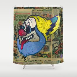 Doc Tongue Shower Curtain