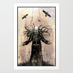 The Father of Nothing Art Print