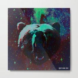 Dark Bear  Metal Print