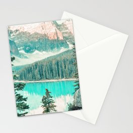 Mountain watercolor painting #6 Stationery Cards