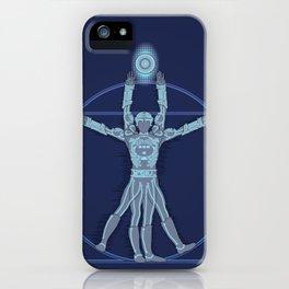 Vitruvian Tron iPhone Case