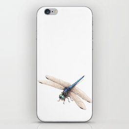 Dragonfly by Lars Furtwaengler   Colored Pencil / Pastel Pencil   2014 iPhone Skin