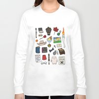 doctor who Long Sleeve T-shirts featuring Doctor Who by Shanti Draws