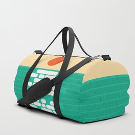 Sun over the sea Duffle Bag