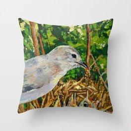 Mother Bird 1 Throw Pillow