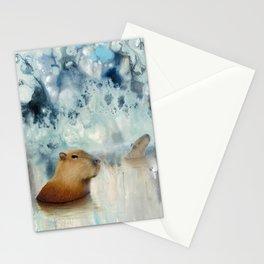 Capybara Springs Stationery Cards