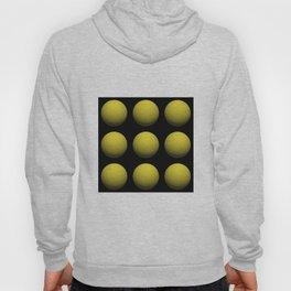 3D Yellow Spheres In Space Hoody