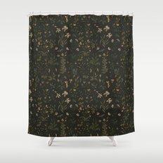 Old World Florals Shower Curtain