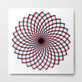 For when you feel dizzy Metal Print