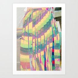 pastel prism Art Print