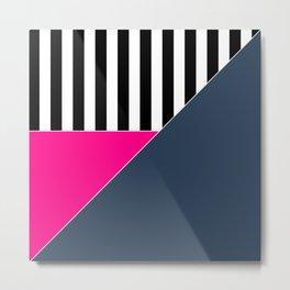 Asymmetrical patchwork 1 Metal Print