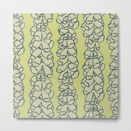 Bold Blooms Pattern No. 03 (square) Metal Print