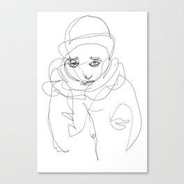 Winter Portrait #1 Canvas Print