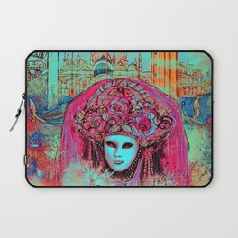 Turquoise Venice Laptop Sleeve