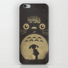 My Neighbor Totoro iPhone & iPod Skin