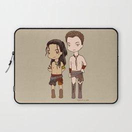 Chibi Nagron (Agron & Nasir, Spartacus) Laptop Sleeve