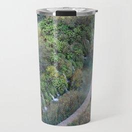 Plitvice National Park Boardwalk Croatia Travel Mug