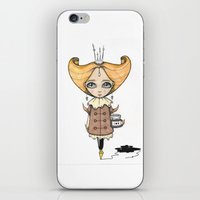 crown iPhone & iPod Skins featuring Crown by About Time Mr Wolfe