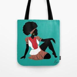 Garifuna Girl III Tote Bag