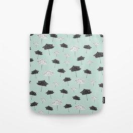 Umbrellas. Tote Bag