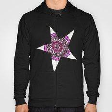 Pink Superstar Mandala Star Hoody