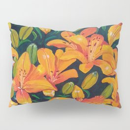 Daylilies in the Garden Pillow Sham