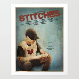Official Poster: Stitches Art Print