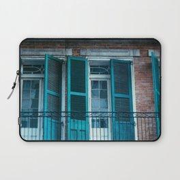 French Quarter Blues, No. 1 Laptop Sleeve