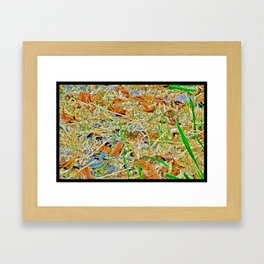 Darwin-Bug Framed Art Print