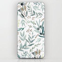Eucalyptus pattern iPhone Skin