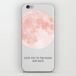 Moon 01 iPhone Skin