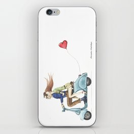 Love&Vespa iPhone Skin