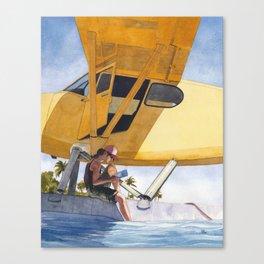 Caribbean Charter Canvas Print