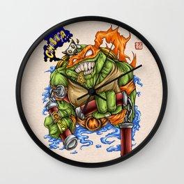 Cowabunga! Wall Clock