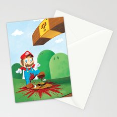 Mario Mess Stationery Cards