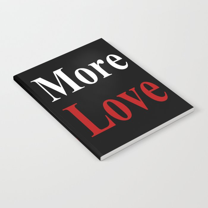 Less Jesus Notebook