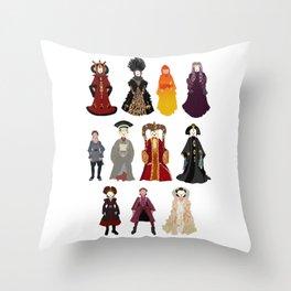 Queen's Closet Throw Pillow
