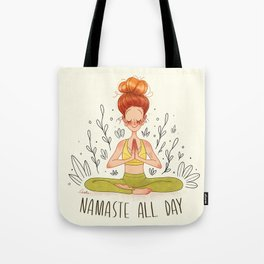 Namasté All Day Tote Bag
