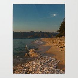 Sunrise at Gili Meno Poster