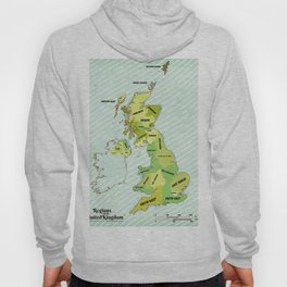 Regions of the United Kingdom Colour version. Hoody