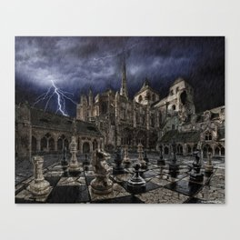 The last game Canvas Print